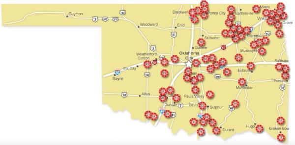 Oklahoma blackjack commission