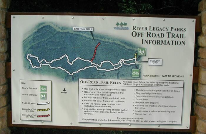 River Legacy Park in Arlington Texas