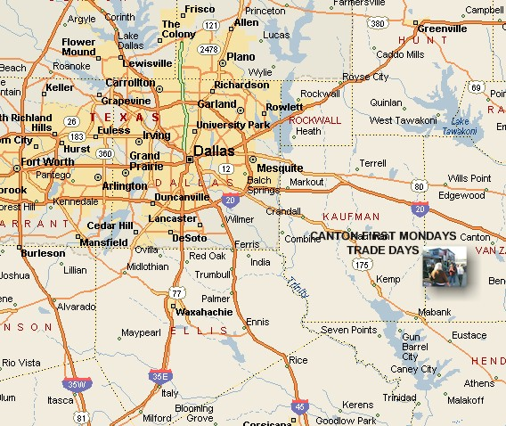 Canton Texas Map Map Of Canton Texas | Business Ideas 2013 Canton Texas Map
